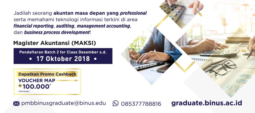 MoU Signing CIMA dan Master Akuntansi Universitas Bina Nusantara
